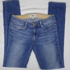 Paige Jimmy Jimmy boyfriend skinny jeans, size 24